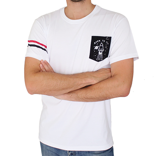 Camiseta Blanca PLD Space